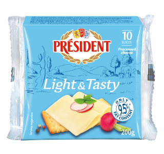 President Light And Tasty